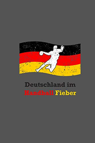 Deutschland Im Handball Fieber: A5 Handball Kalender | Deutschland Handball Wochenplaner | Handballspieler & Handballspielerinnen Geschenk