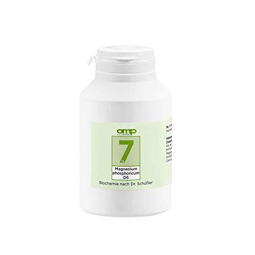 Schüssler Salz Nr. 7 Magnesium phosphoricum D6   1000 Tabletten   Das Salz der Muskeln und Nerven   glutenfrei