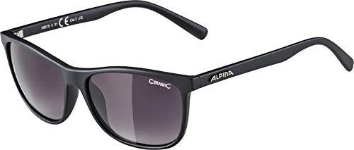 ALPINA Unisex - Erwachsene, JAIDA Sonnenbrille, black matt, One size