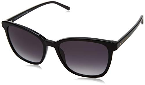 Tommy Hilfiger Damen TH 1723/S Sonnenbrille, Black, 54