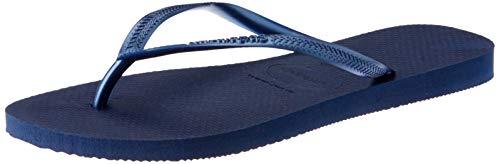 Havaianas Damen Slim' Zehentrenner, Blau (Navy Blue 0555), 39/40 EU