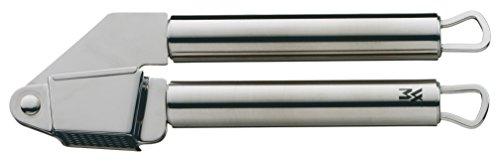 WMF Profi Plus Knoblauchpresse, 17,5 cm, Cromargan Edelstahl, teilmattiert, spülmaschinengeeignet