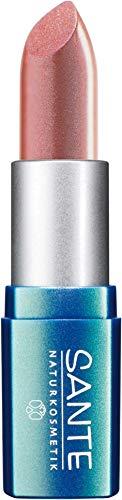 SANTE Naturkosmetik Lipstick No. 11 nude beige, Lippenstift, Transparente bis intensive Farben, Zart pflegend & sanft schützend, 4,5g