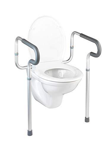 WENKO WC-Stützhilfe Secura WCHilfe Haltegriff WCSitz Klobrille Toilettendeckel