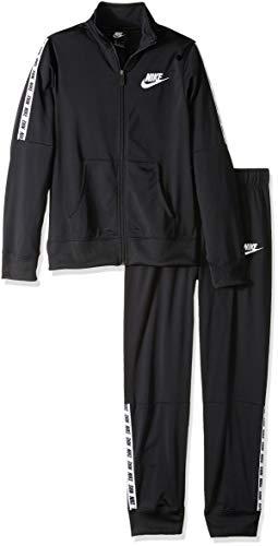 Nike G Nsw Trk Tricot Trainingsanzug, Schwarz (black/White/010), S