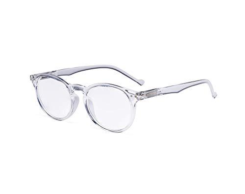 Eyekepper Oval Rund Federscharniere Brillen Transparent Rahmen