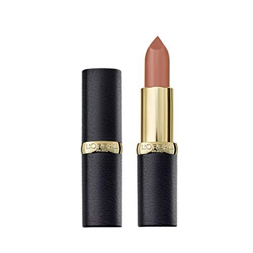 L'Oréal Paris Color Riche Matte 634 Greige Perfecto, matter Lippenstift mit pflegenden Ölen, cremige Textur für maximalen Lippenkomfort
