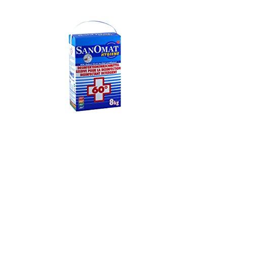 Desinfektionswaschmittel Sanomat Hygiene VAH und RKI gelistet, DGHM zertifiziert, 8 kg