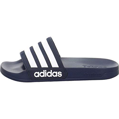 adidas Herren Cf Adilette Dusch-& Badeschuhe, Blau (Collegiate Navy/footwear White/collegiate Navy 0), 46 EU