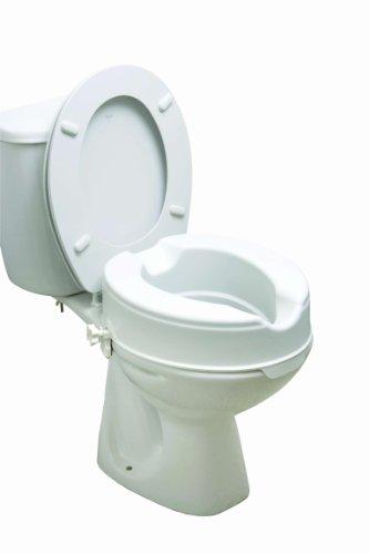 Drive Medical 12066 Erhöhter Toilettensitz, ohne Deckel, 15cm