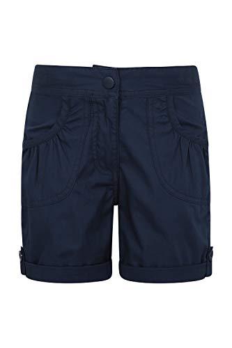Mountain Warehouse Shore Shorts für Mädchen - Kindershorts aus 100% Baumwolle, Kurze Atmungsaktive Hose, Strand Shorts - Lässige Shorts für Den Sommer & Urlaube Marineblau 11-12 Jahre