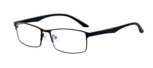 ALWAYSUV Voll Rahmen Rechteckig Linse Optische Stärke Rahmen Brillenfassung Business Brille