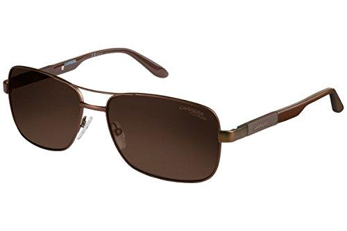 Carrera Unisex-Erwachsene 8018/S SP Sonnenbrille, Schwarz (Mtbrwn Brwn), 57