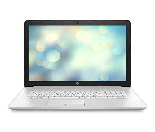 HP 17-by3099ng / 17-by3235ng (17,3 Zoll / HD+) Laptop (Intel Core i3-1005G1 dual, 8GB DDR4 RAM, 512GB SSD, Intel UHD Grafik, Windows 10, QWERTZ) silber
