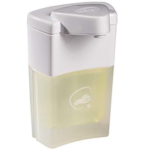hagi Hand-Desinfektionsschaum: berührungslos aus dem automatischen Schaumspender (Akku-Technologie), angenehm duftend