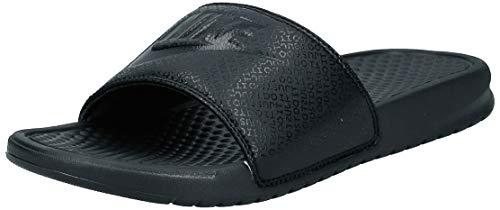 Nike Benassi Jdi, Herren Flip Flop, Schwarz (Black), 41 EU