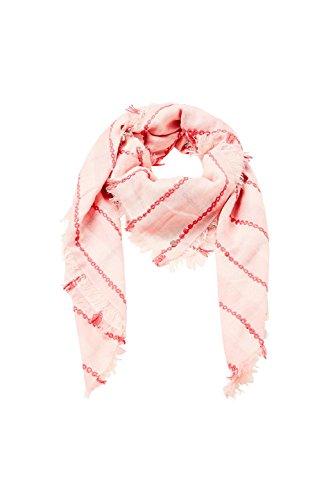 ESPRIT Accessoires Damen 038EA1Q013 Schal, Rosa (Pink 670), One Size (Herstellergröße: 1SIZE)