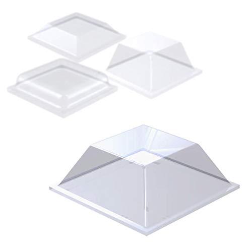 ELASTIKPUFFER SELBSTKLEBEND   Quadratisch   Größe, Menge & Farbe wählbar