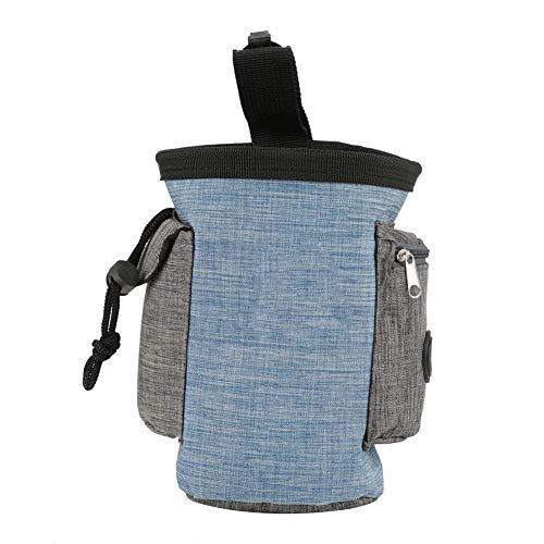 Fdit Hundeleckerli-Tasche mit Mehreren Fächern, für Tierfutter, Snack-Aufbewahrung, Taillen-Beutel für Gehorsamkeitstraining