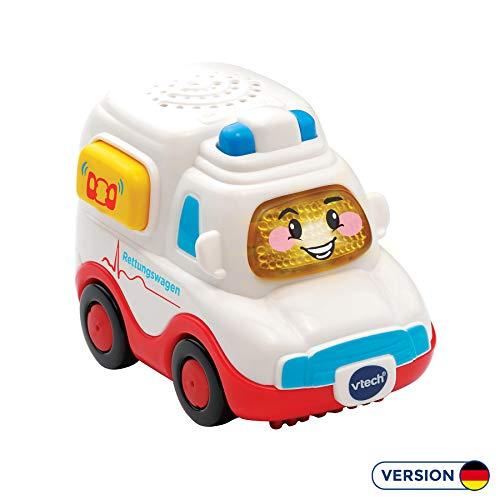 Vtech 80-517004 Tut Tut Baby Flitzer Rettungswagen Babyspielzeug, Mehrfarbig