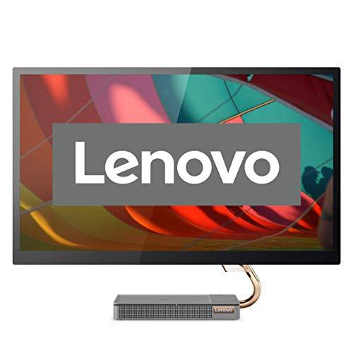 Lenovo IdeaCentre AIO 5i 68,58 cm (27 Zoll, 2560x1440, WQHD, entspiegelt) All-in-One Desktop-PC (Intel Core i5-10400T, 8GB RAM, 512GB SSD, NVIDIA GeForce GTX 1650, Windows 10 Home) grau