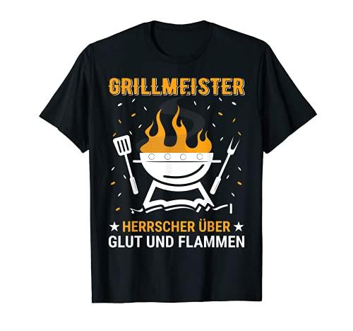 Herren Barbecue und Grill Spruch Design für Grillmeister im Garten T-Shirt
