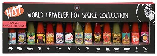 Modern Gourmet Foods - Chili Saucen Geschenkset - 15 individuelle Geschmacksrichtungen - International Inspirierte Saucen