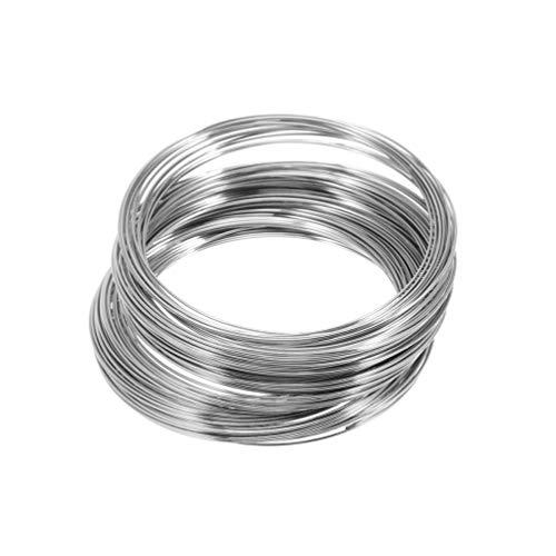 Supvox 200 Kreise Metalldraht Armband Speicher Sicken Draht Manschette Armreif DIY Handwerk Manuelle Draht für Schmuck Machen