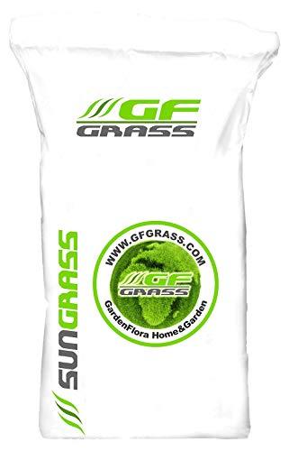 Rasensamen GF Sun Grass Pro 5kg dürreresistenter Rasen Grassamen Rasensaat Saatgut Grassaat