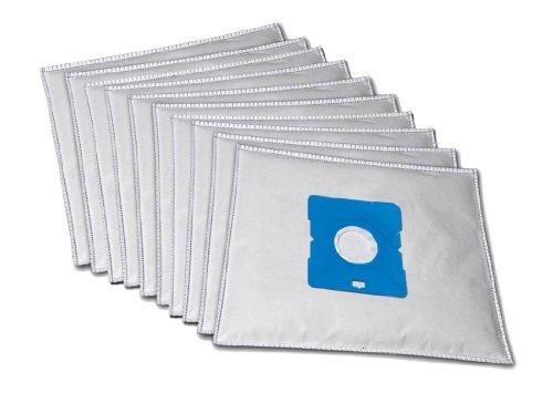 10 Premium Staubsaugerbeutel komaptibel für Simpex 2000 Watt inkl. 2 Motorschutzfiltern