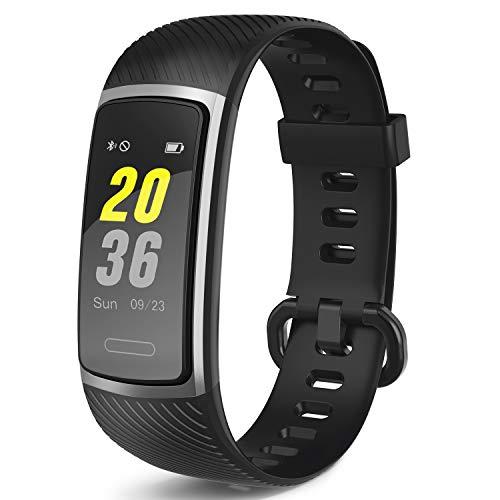 Letsfit Fitness Armband, Smartwatch Wasserdicht IP68 Aktivitätstracker mit Pulsmesser, Fitness Tracker Pulsuhren Schrittzähler Fitness Uhr sportuhr für Damen Herren iOS Android Kompatibel