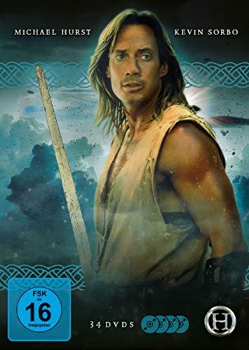 Hercules - The legendary journeys [Die komplette Serie mit 34 DVDs, Booklet und Schuber]