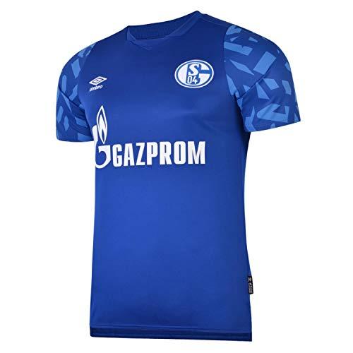 UMBRO FC Schalke 04 Trikot Home 2019/2020 Herren blau/weiß, 3XL