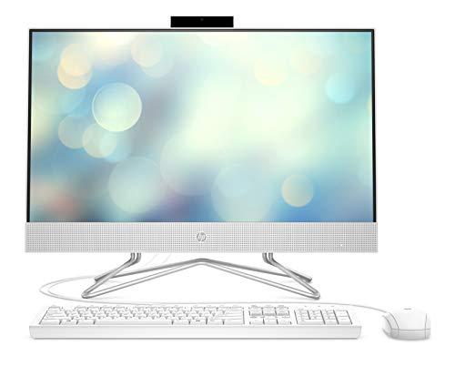 HP 24-df0019ng (23,8 Zoll / Full HD) All-in-One PC (AMD Athlon 3150U, 8GB DDR4 RAM, 256 GB SSD, AMD Radeon RX Vega 3, Windows 10) weiß