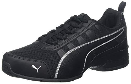 PUMA Unisex-Erwachsene Leader Vt Mesh Sneaker, Schwarz (Puma Black-Puma Silver 7), 43 EU (9 UK)