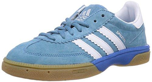 adidas HB Spezial Unisex-Erwachsene Handballschuhe, Blau (Royal/Core White/Ftwr White), 36 EU