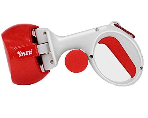 Haustier Haustierpflücker Hunde-Poop Collector Tragbare Müllsäcke Silikon-Clip Stück Beutel Für Hunde Rot One Size