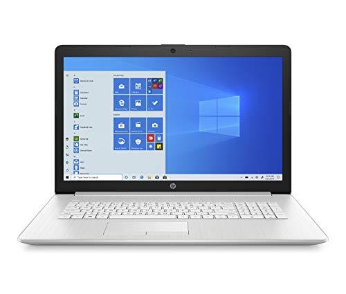 HP 17-by4257ng (17,3 Zoll / FHD IPS) Laptop (Intel Core i5-1135G7, 16GB DDR4 RAM, 512GB SSD, Nvidia GeForce MX350 2GB, Windows 10, QWERTZ, DVD-Laufwerk) silber