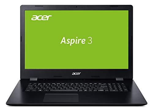 Acer Aspire 3 (A317-51K-3664) 43,9 cm (17,3 Zoll Full-HD IPS matt) Multimedia Laptop (Intel Core i3-8130U, 8 GB RAM, 256 GB PCIe SSD, Intel UHD Graphics 620, Win 10 Home) schwarz