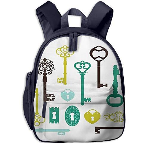 Kinderrucksack Haustierfutter Wasser 51 Babyrucksack Süßer Schultasche für Kinder 2-5 Jahre