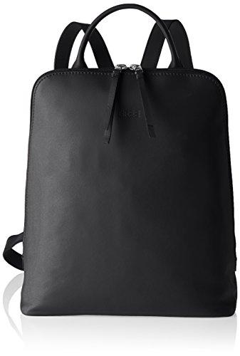 BREE Damen Toulouse 8 Rucksackhandtaschen, Schwarz (black smooth 909), 28x33x16 cm