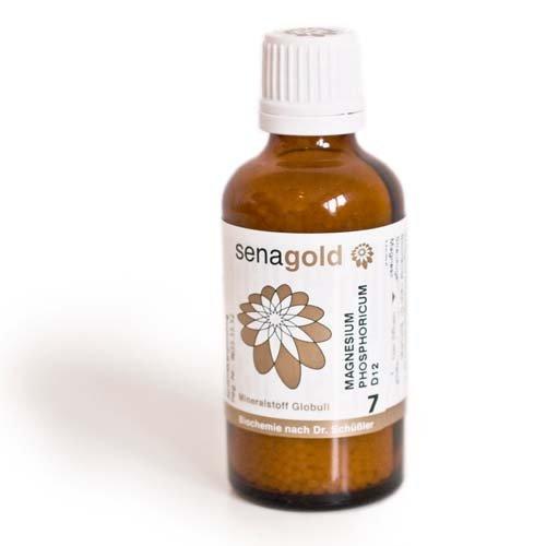 Schuessler Salz Nr.7 - Magnesium phosphoricum D12 - Globuli 50 g, laktosefrei