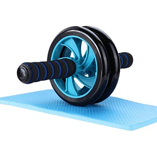 Mitavo AB Roller, Ab Wheel, Ab Bauchtrainer mit Knieauflage für effizientes Bauchmuskel Training