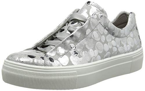 Legero Damen Lima Sneaker, Silber (Metallic Silver (Silver) 95), 42 EU