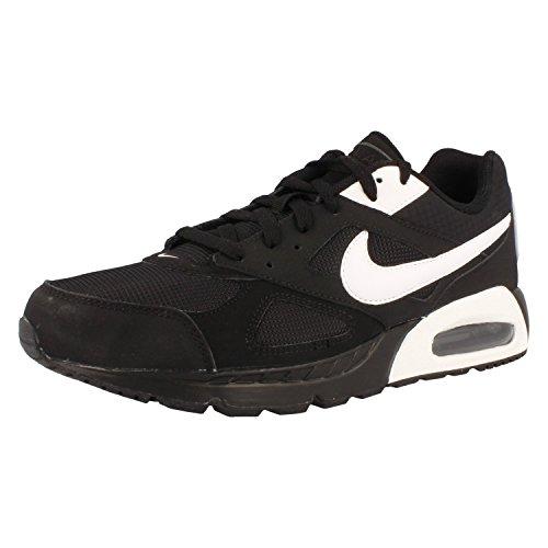 Nike Herren Air Max Ivo Laufschuhe, Negro / Blanco / Negro (Black / White-Black), 47 EU