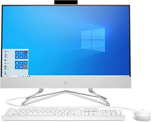 HP 24-df1002ng (23,8 Zoll / Full HD) All-in-One PC (Intel Core i5-1135G7, 8GB DDR4 RAM, 1TB SSD, Intel Grafik, Windows 10, DVD Laufwerk) Weiß