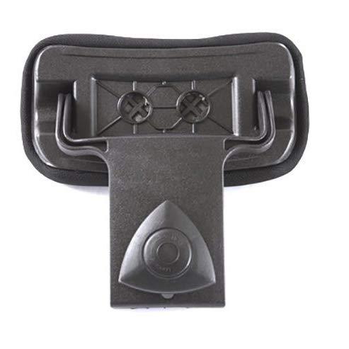XER Rollstuhl Kopfstütze Einstellbar Hoch und Niedrig Größe tragbar Universal Rollstuhl Zubehör Kissen Kissen Einstellbar Polsterung zum Erwachsene,3.0