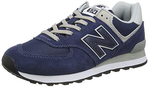 New Balance Herren 574v2 Core Sneaker, Blau (Navy), 46.5 EU