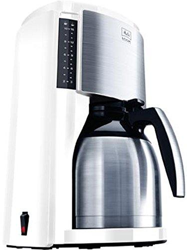 Melitta Look III Therm Selection 1011-11 wh, Filterkaffeemaschine mit Thermkanne, AromaSelector, Weiß