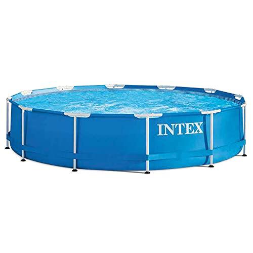 Intex Metal Frame Pool - Aufstellpool - Ø 366 x 76 cm